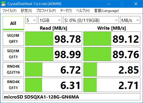 MRW-S1 SDSQXA1-128G-GN6M