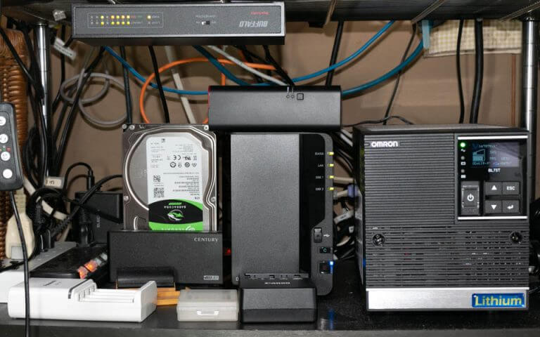 オムロン UPS BL75Tの設置