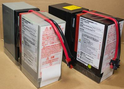オムロン UPS BN7Sの交換バッテリー