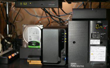 オムロンUPS BN75Sのバッテリー交換とBN75T・BN75Lとの比較