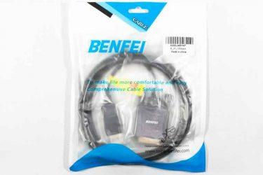 ディスプレイポートからDVI-Dに接続できる変換ケーブルを購入