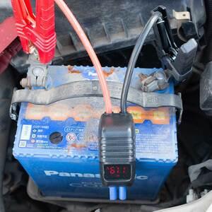 交換前のカーバッテリーの電圧