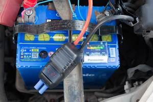 カーバッテリー 交換後の電圧
