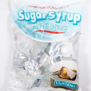 原材料が砂糖の氷砂糖から作られたシュガーシロップ