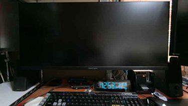 PCモニターをウルトラワイドの液晶LCD-GCWQ341XDBに取り換えたのでレビュー