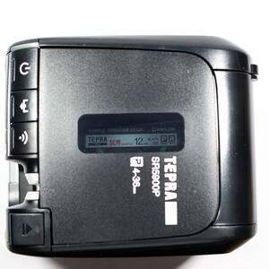 テプラPRO SR5900Pで使用中のラベルの確認