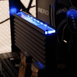 SST-ECM24 LEDの点灯