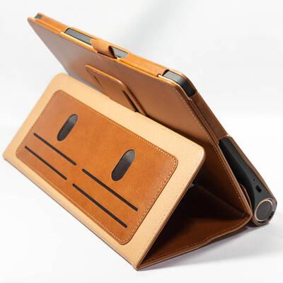 ケースをスタンドにした状態 Lenovo Yoga Smart tab ケース WY-2140