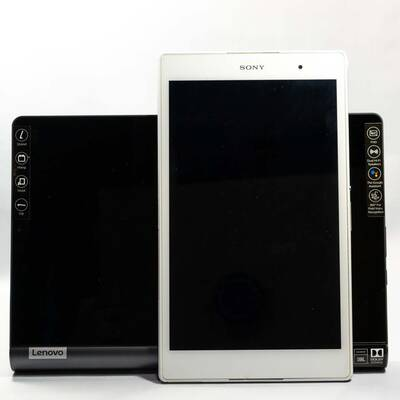 ZA3V0052JP(YT-X705F)とXperia Z3 Tablet Compact(SGP611)の大きさ比較-2